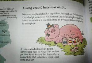 A saját lábán álló Magyarország és a német szoptató malac